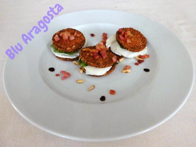 appetizer finger food velocissimi, ottimi con un prosecco prima di mangiare