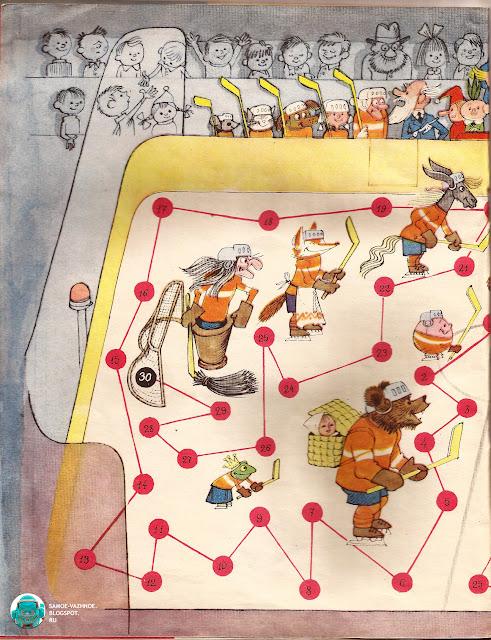 Игры-ходилки СССР с фишками и кубиком советские старые из детства