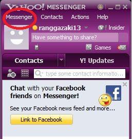 cara mengaktifkan webcam di yahoo messenger