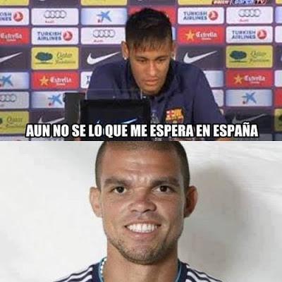Neimar y Pepe