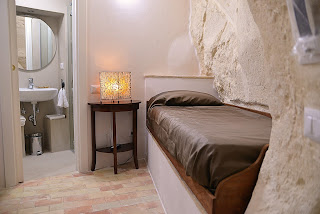 Camera singola nei Sassi di Matera - Hotel il Belvedere