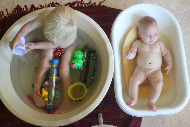 Communal bathing.