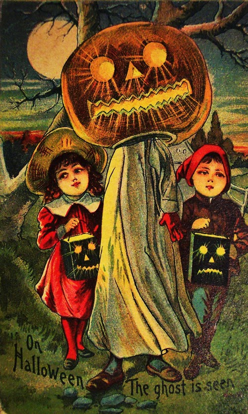 Old Halloween Postcards C 1900s Vintage Everyday