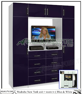 lemari baju minimalis tv unit New york