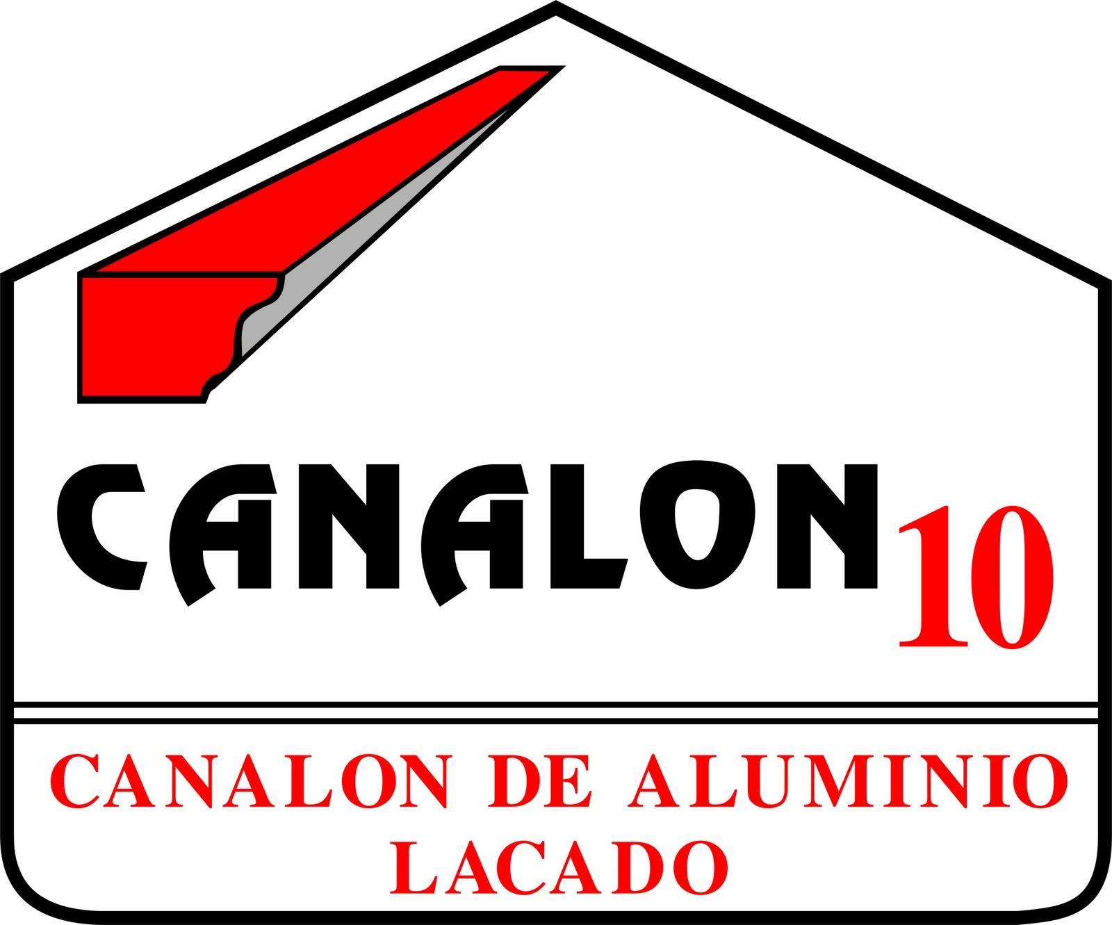 Canalon 10 for Canalon de aluminio