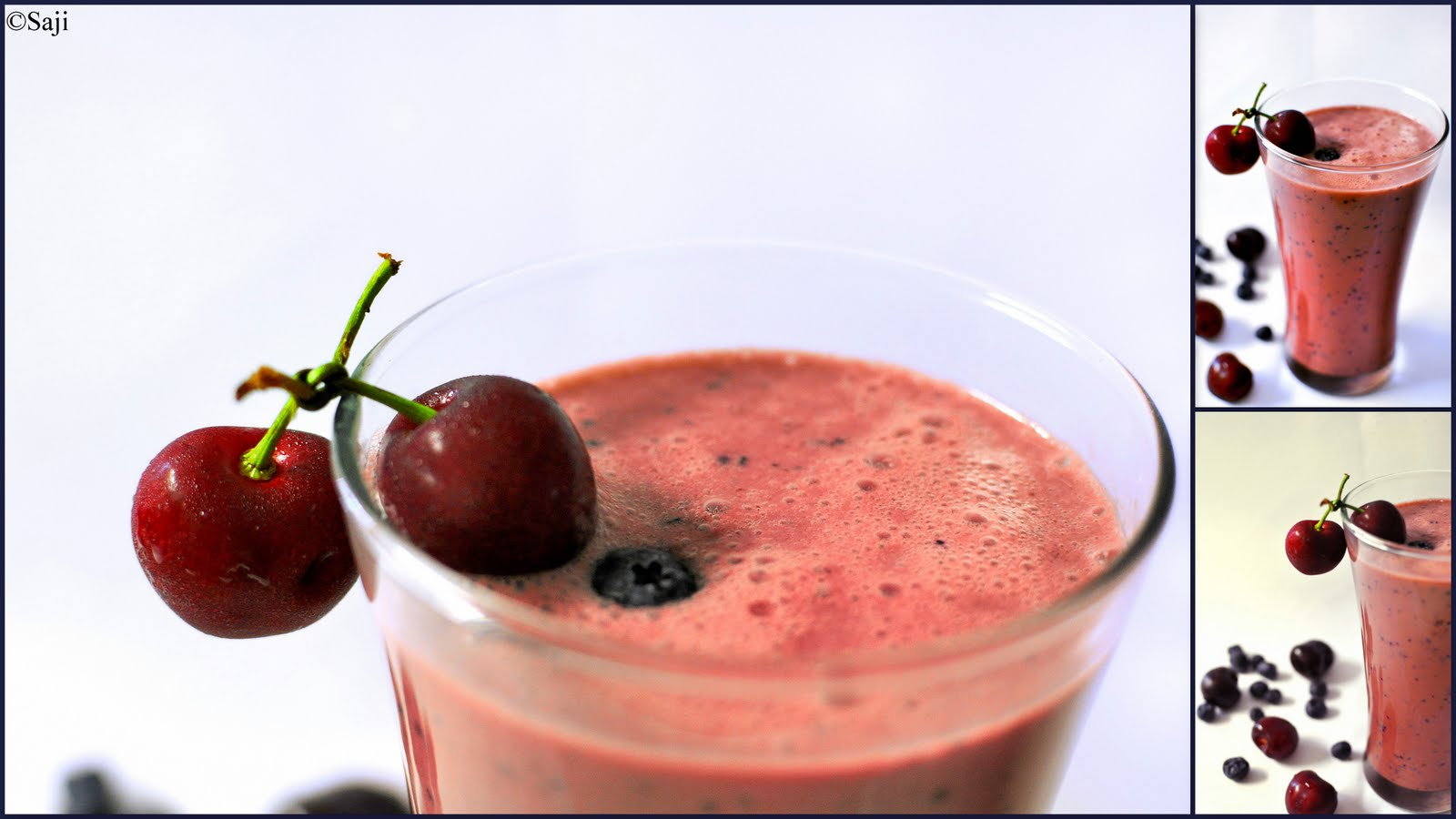 Saji: Cherry Berry Smoothie