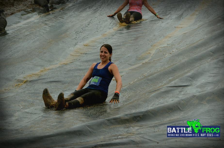 battlefrog slip n slide