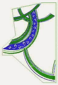 embroidery design goe4-left part