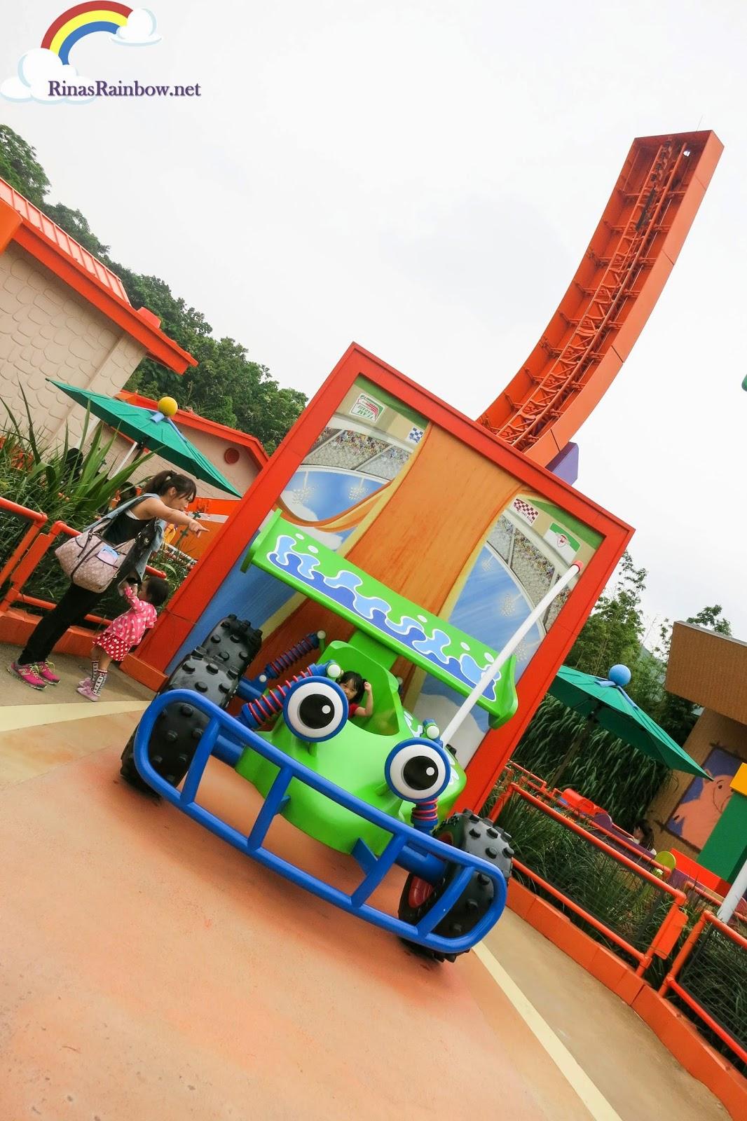 RC Racer Disneyland