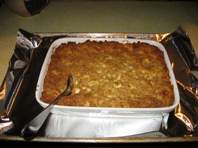 The Potluck Vegetarian Cottage Cheese Loaf