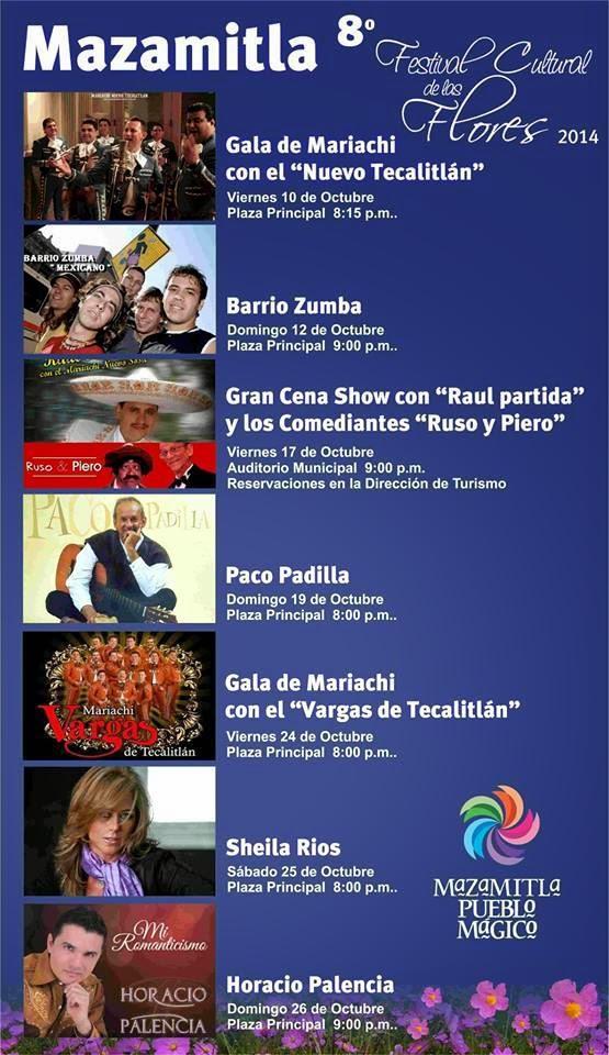 8 festival de las flores mazamitla 2014