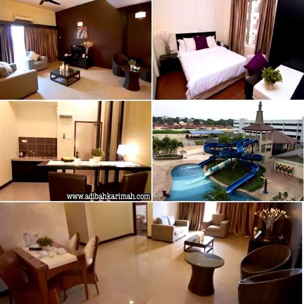 Menginap di Bayou Lagoon Resort Melaka