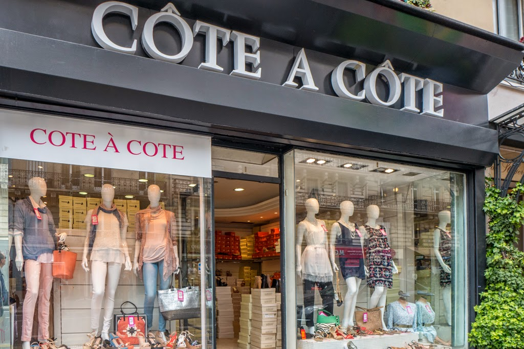 Paris France store name Cote a Cote
