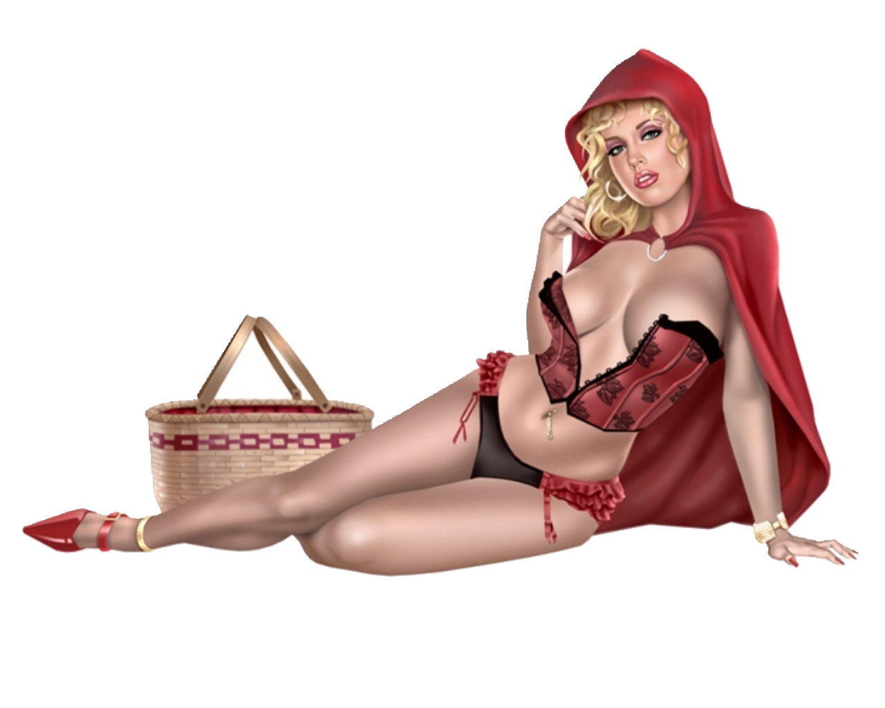 Little red riding hood adult