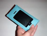 TUTORIAL GRATIS FUNDA IPHONE O IPOD DE FIELTRO 16