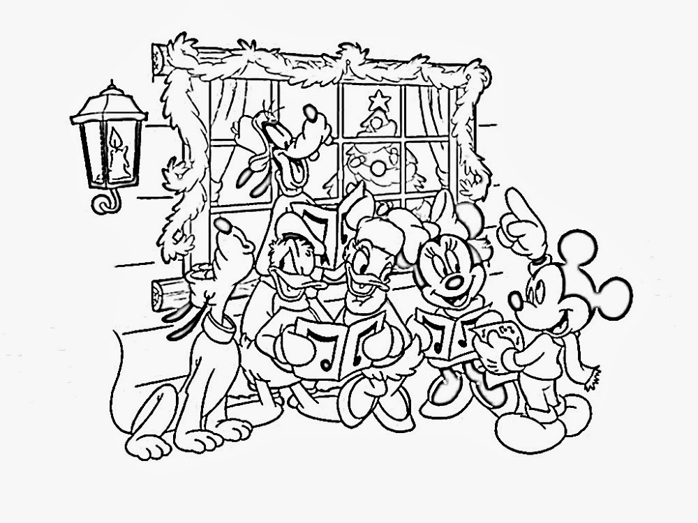 Sauvage27 natale disney da colorare disney christmas for Disney christmas printable coloring pages