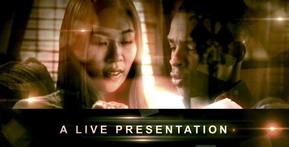 VideoHive A LIVE Presentation