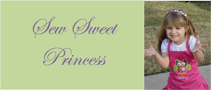 Sew Sweet Princess