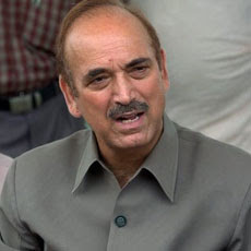 Ghulam Nabi Azad briefs PM on Telangana issue