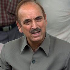 Ghulam Nabi Azad briefs PM on Telangana issue