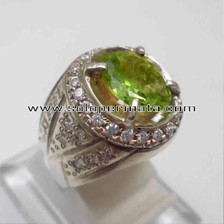 Batu Permata Natural Peridot Garansi Asli | Green Peridot