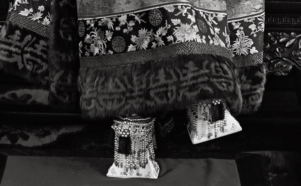 chapines de la ultima emperatriz de China