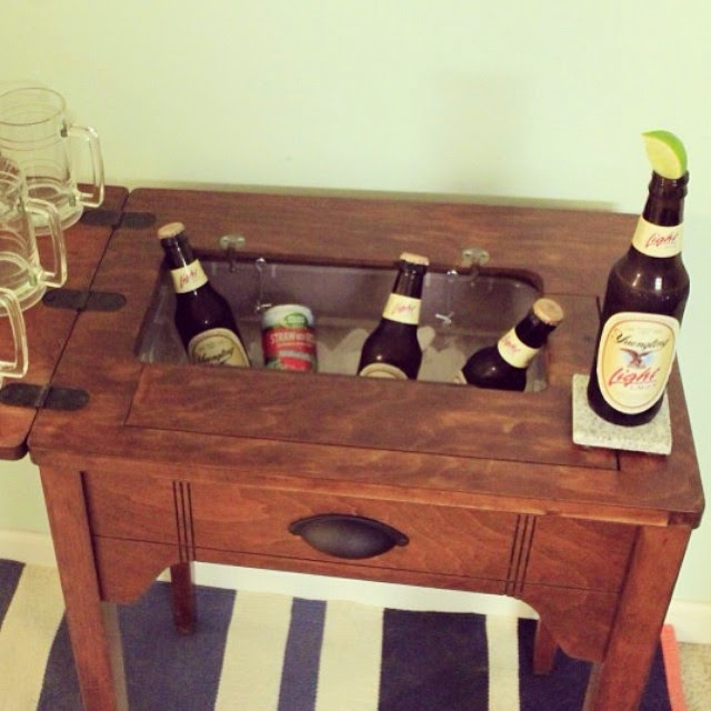 #thriftscorethursday Week 20 | Instagram user: charlestoncrafted shows off this clever ice chest.