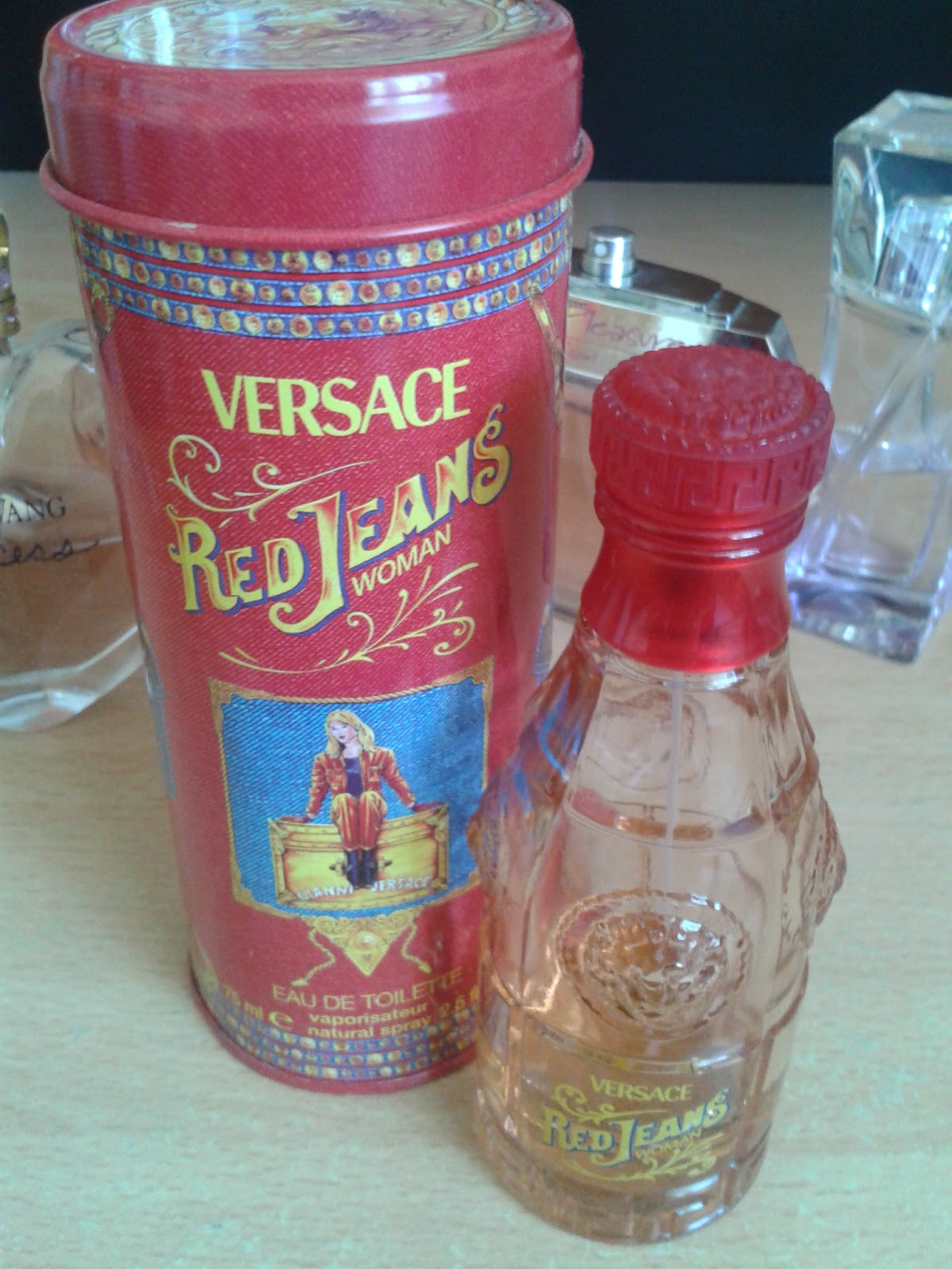 The TrueSelf | versace red jeans perfume reviews