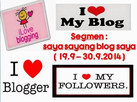 segmen: saya sayang blog saya