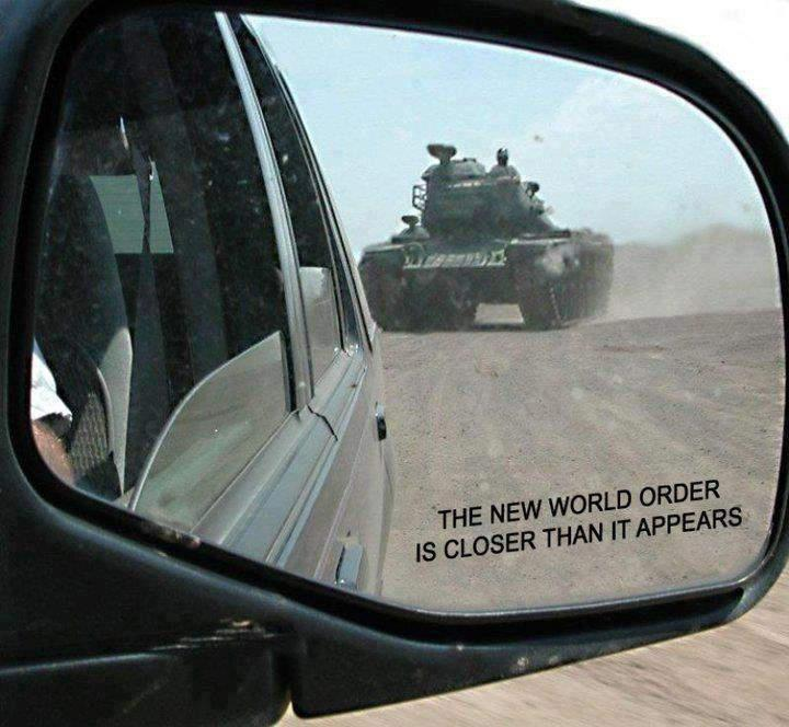 All forms of one world rule should be opposed with images for Mirror jokes