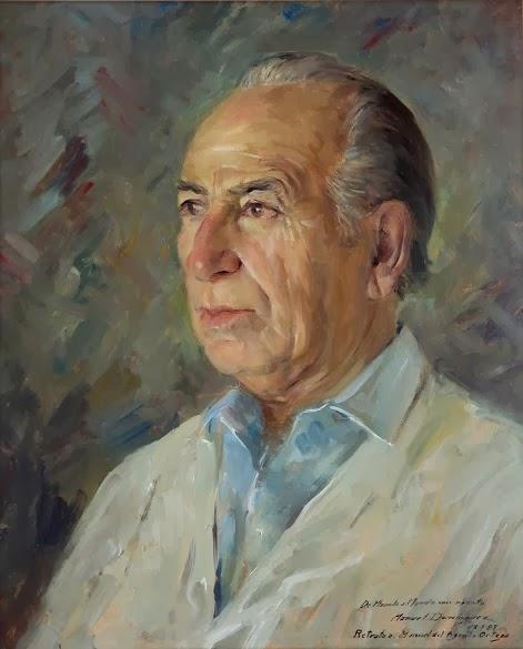 Manuel Domínguez, Maestros españoles del retrato