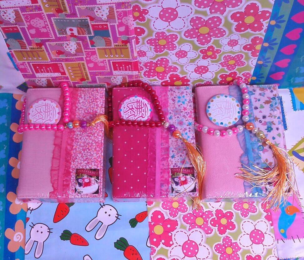 Al-Quran New Zhafira Rainbow Tajwid warna Pink Series