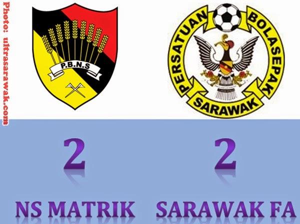 Keputusan Perlawanan NS Matrik vs Sarawak FA