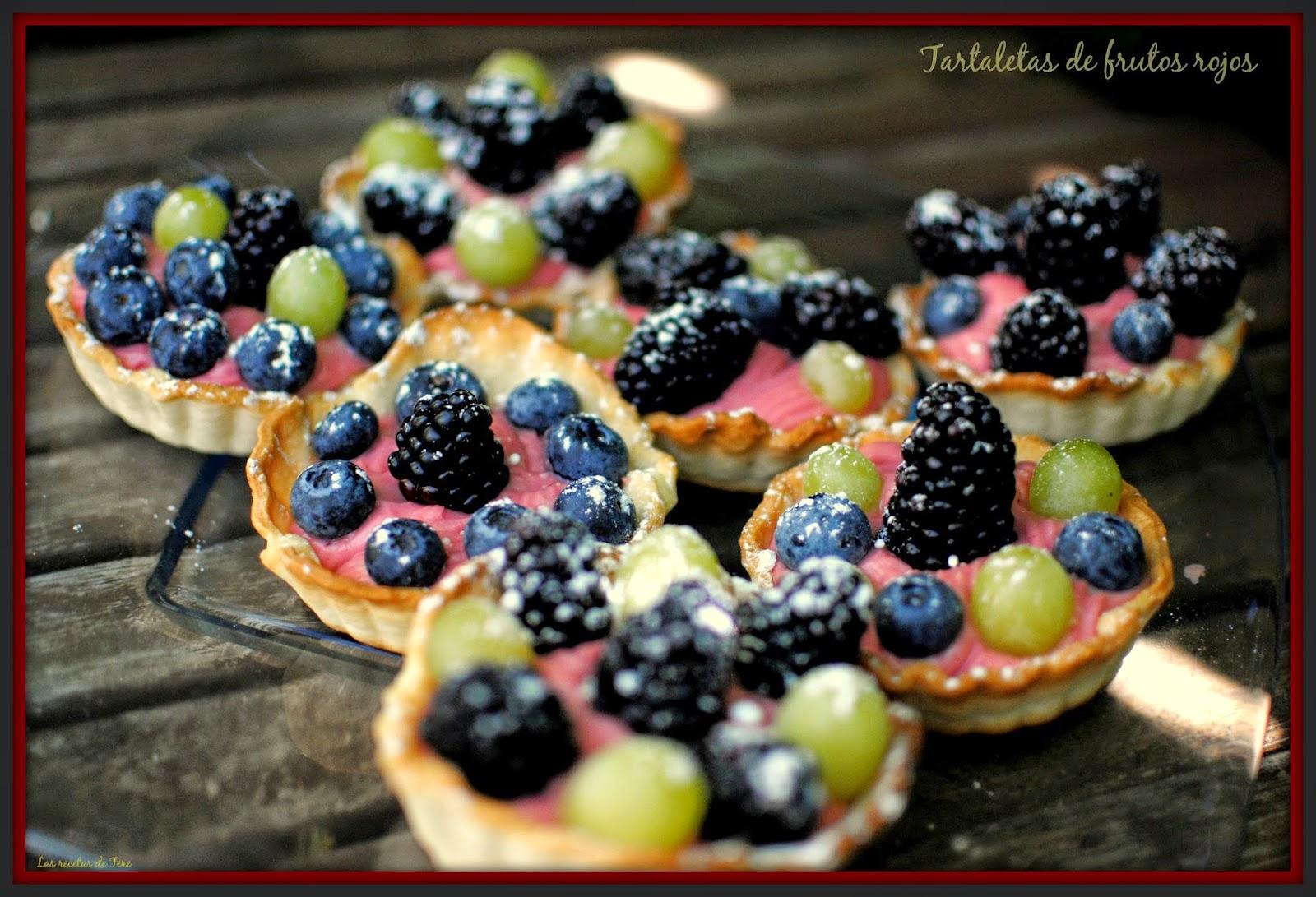 Tartaletas de frutos rojos las recetas de tere 07