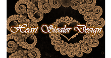 I won the Heart Stealer Quilling Design