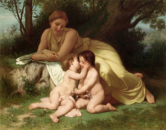 William Adolphe Bouguereau,myth painting,mythology