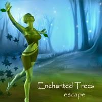 Juegos de aventura en español Enchanted Trees Escape