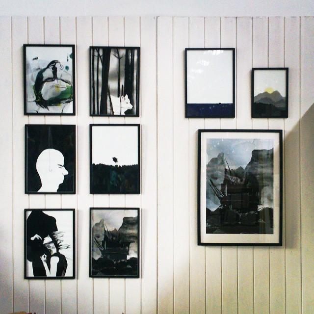 Illustrator Maria Molbech på EDITION kunst og designmarked