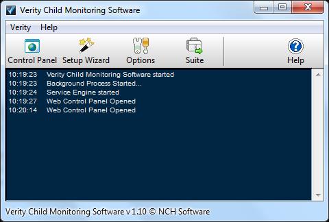 Verity UI Monitor, Melacak dan Melindungi Aktivitas Internet Komputer
