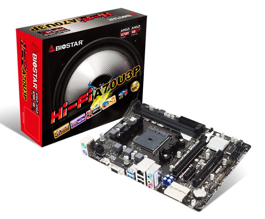 BIOSTAR Hi-Fi A70U3P