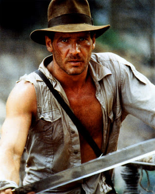 Harrison Ford en la película Indiana Jones