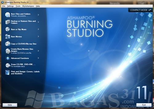KapuyuaK DownloaD: Ashampoo Burning Studio 11 Beta Full Crack