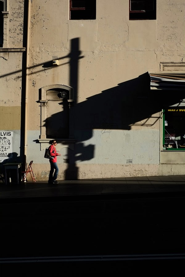 Shadow Walk Redfern, Fujifilm X-Pro1 - XF35mmF1.4 R Photo by Kent Johnson.