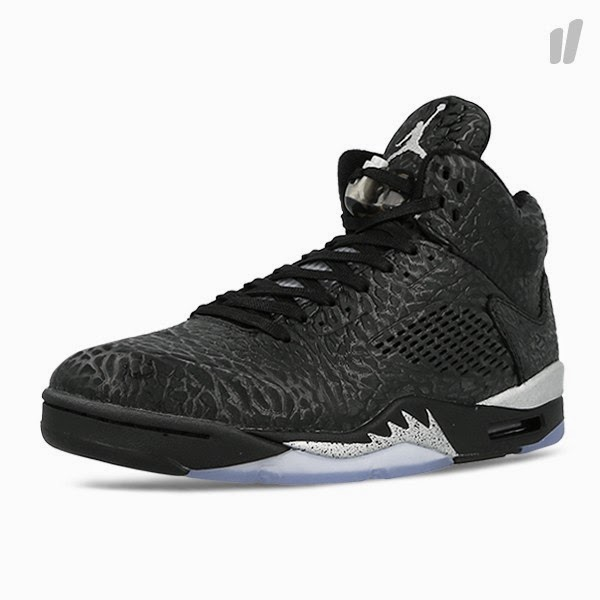 Nike Air Jordan 3LAB5 'Black/Metallic Silver'