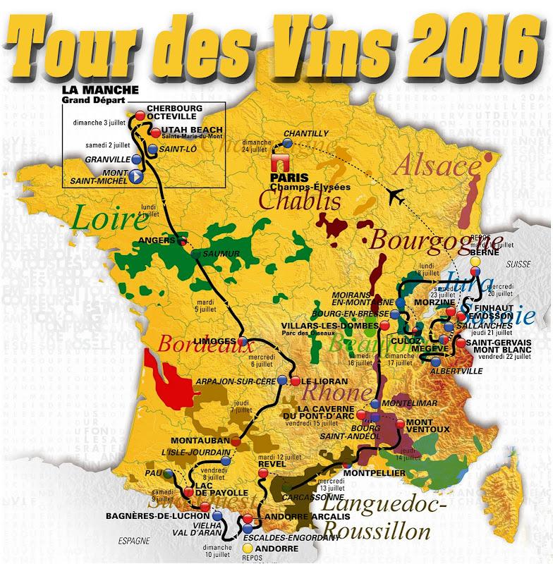 Tour des Vins 2010 / 2011 / 2012 / 2013 / 2014 7 2015