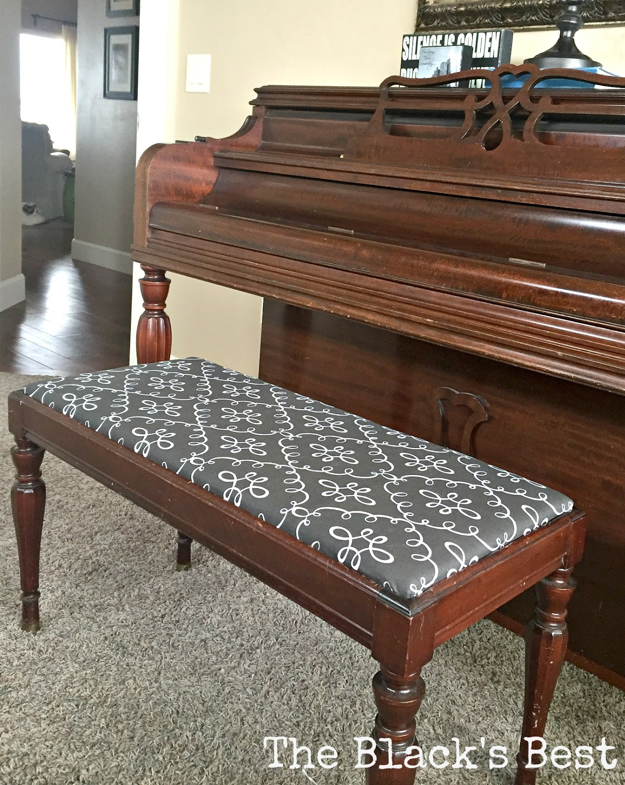 The Black 39 S Best Piano Bench Recover