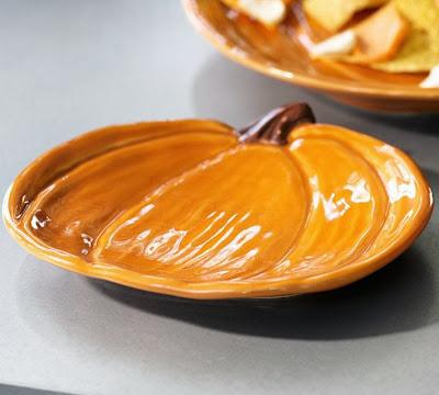 Black Friday Lals Pottery Barn Pumpkin Plate Decor Look