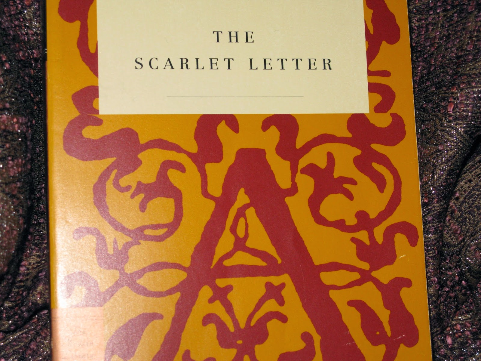 Scarlet Letter Book Cover The Audiobook Audible Com