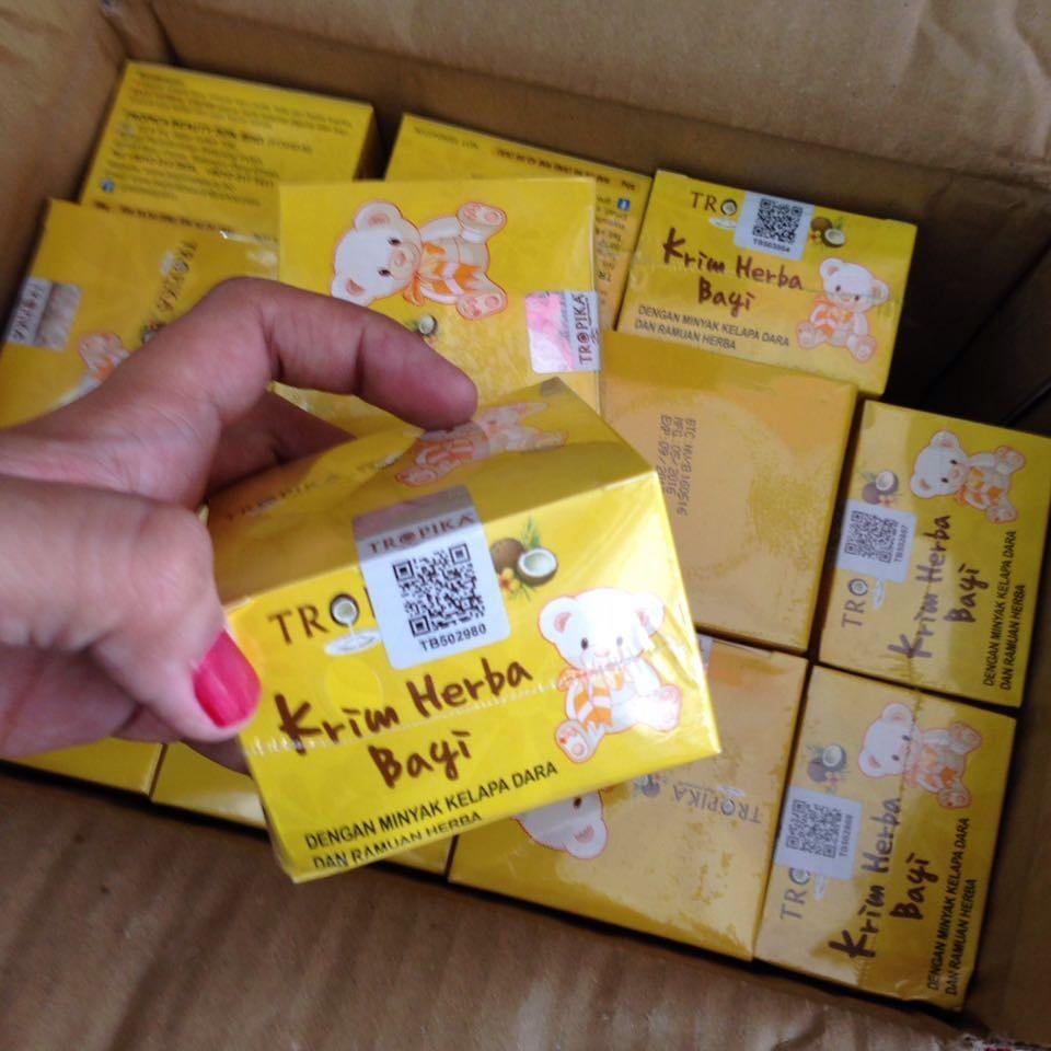 KRIM HERBAL TROPIKA BABY HERBAL KRIM 013-3045279