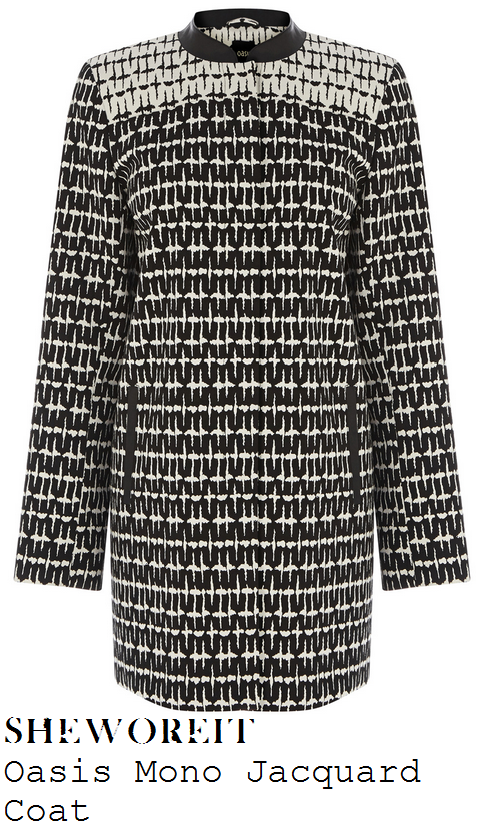 mollie-king-black-and-white-patterned-jacquard-tailored-coat-jacket